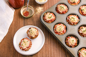 #5: Chicken Parm Meatloaf Minis