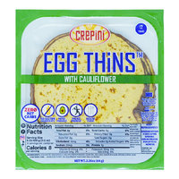 Crepini Egg Thins with Cauliflower