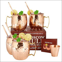 Amazon Find: Moscow Mule Copper Mugs Gift Set