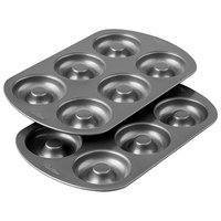 #4: Wilton Non-Stick 6-Cavity Donut Baking Pans