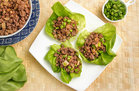 Hungry Girl's Healthy Teriyaki Beef Lettuce Cups Recipe