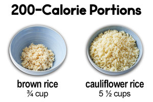Instead of Brown Rice… Cauliflower Rice