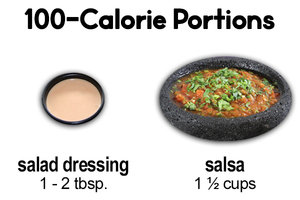 Instead of Salad Dressing… Salsa