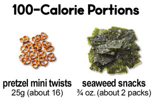 Instead of Pretzels… Seaweed Snacks