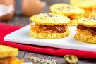 Hungry Girl's Healthy Egg-Bun Breakfast Sandwiches Recipe
