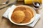 Hungry Girl Heallthy Cozy Cornbread Pancakes Recipe