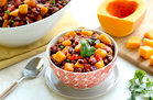 Hungry Girl Healthy Slow-Cooker Butternut Black Bean Chili Recipe