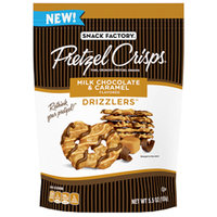 Snack Factory Pretzel Crisps Milk Chocolate & Caramel Drizzlers
