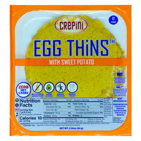 Crepini Egg Thins with Sweet Potato