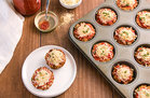 Hungry Girl's Healthy Chicken Parm Meatloaf Minis Recipe