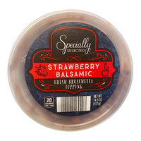 Specially Selected Strawberry Balsamic Fresh Bruschetta Topping