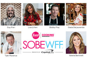 Attention Florida Fans: Join Lisa Lillien at the South Beach Wine & Food Festival!