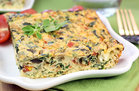 Hungry Girl's Healthy Greek Style Egg Bake Recipe