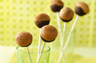 Hungry Girl's Healthy Chocolate PB Cake Pops Recipe
