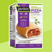 Natural Food & Drink Finds: Gardein Meatless Pizza Pockets