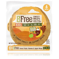 BFree Kids Sweet Wraps in Sweet Potato, Banana & Apple