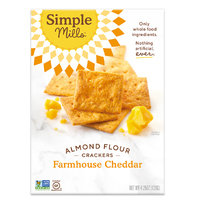 Simple Mills Almond Flour Crackers in Farmhouse Cheddar