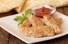 Hungry Girl's Healthy Chicken Parm Dunkers Recipe