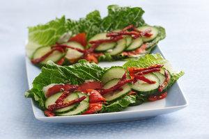 Protein-Stuffed Lettuce Wraps