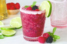 Hungry Girl's Healthy Mixed Berry Margarita Recipe