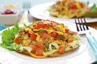 Hungry Girl's Healthy Cheeseburger Tostadas Recipe