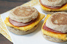 Hungry Girl's Healthy Easy Freezy Breakfast Sandwiches Recipe