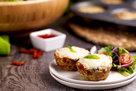 Hungry Girl's Healthy Sun-Dried Tomato & Mozzarella Meatloaf Minis Recipe
