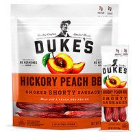 Duke's Hickory Peach BBQ Smoked Shorty Sausages