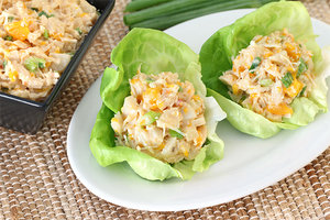 Scoopy Asian Chicken Salad