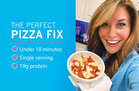 Hungry Girl's Healthy Deep-Dish Cauliflower Pizza Bowl Recipe