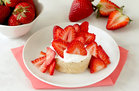 Hungry Girl's Healthy Strawberry Shortcake in a Mug Recipe
