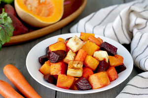 Roasted Root Veggie Power Hour