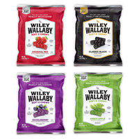Wiley Wallaby Soft & Chewy Gourmet Licorice Variety Gift Box