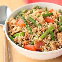 5 Ingredient Meals: Tuna Quinoa Bowl