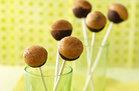 Hungry Girl's Healthy Chocolate PB Cake Pops Recipe
