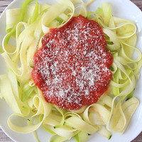 5 Ingredient Meals: Zucchini Marinara Pasta Swap