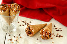 Hungry Girl's Healthy Samoas-Style Cannoli Cones Recipe