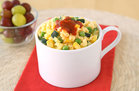 Hungry Girl's Healthy Spring Sriracha Egg Mug Recipe