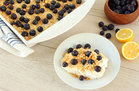 Hungry Girl's Healthy Scoopable Lemon Blueberry Cheesecake Recipe