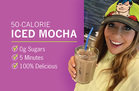 Hungry Girl's Healthy Ice-olation Mocha Recipe