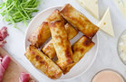 Hungry Girl's Healthy Air-Fryer Reuben Egg Rolls Recipe