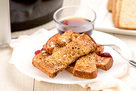 Hungry Girl's Healthy Air-Fryer French Toast Sticks Recipe