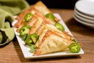 Hungry Girl's Healthy Air-Fryer Jalapeño Popper Pockets Recipe