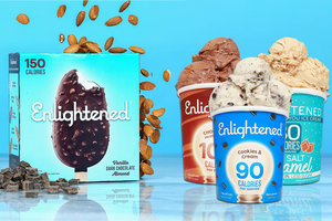 Classic Low-Calorie Ice Cream: Pints & Bars!