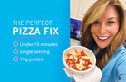 Hungry Girl's Healthy Deep-Dish Cauliflower Pizza Bowls Recipe
