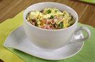 Hungry Girl's Healthy Denver Omelette in a Mug Recipe