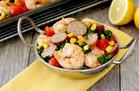 Hungry Girl's Healthy Sheet-Pan Shrimp Bake Recipe