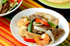 Hungry Girl's Healthy Slow-Cooker Everything Fajitas Recipe