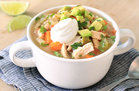 Hungry Girl's Healthy Mexican Chicken Soup Salad Recipe
