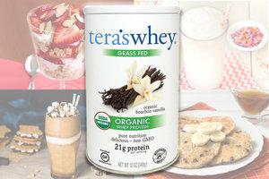 Tera's Whey Bourbon Vanilla Protein Powder